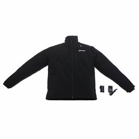 Kobalt Medium Black/Woven Lithium-Ion Heated Jacket