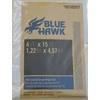 Blue Hawk 6-oz Butyl-Backed Canvas Drop Cloth (Common: 4-ft x 15-ft; Actual 4-ft x 15-ft)