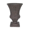 allen + roth 26-in H x 18-in W x 18-in D Rust Urn