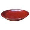 Garden Treasures 7.6-in Rust Ceramic Plant Saucer