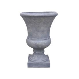 allen + roth 18-in x 26-in Concrete Fiberglass Urn
