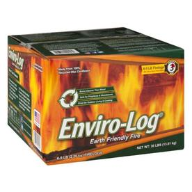 Enviro-Log 6-Pack 30 lbs Fire Log