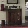 allen + roth Caladium Cherry Traditional Bathroom Vanity (Common: 30-in x 21-in; Actual: 30-in x 21.5-in)