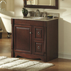 allen + roth Caladium Cherry Traditional Bathroom Vanity (Common: 36-in x 21-in; Actual: 36-in x 21.5-in)