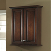 allen + roth Caladium 24-in W x 30-in H x 8-in D Cherry Poplar Bathroom Wall Cabinet