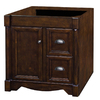 allen + roth Moxley 30-in x 21-1/2-in Cocoa Traditional Bathroom Vanity