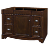 allen + roth Moxley 48-in x 21-1/2-in Cocoa Traditional Bathroom Vanity