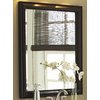 allen + roth 30-in H x 26-in W Moxley Cocoa Rectangular Bathroom Mirror