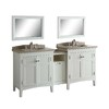 allen + roth Norbury White Undermount Single Sink Poplar Bathroom Vanity with Engineered Stone Top (Common: 30-in x 22-in; Actual: 30-in x 20.63-in)
