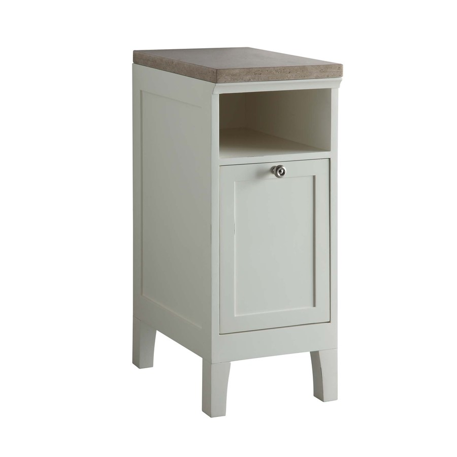 white storage cabinet common 13 in actual 13 in at