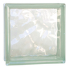 REDI2SET Glass Block (Common: 8-in H x 8-in W x 3-in D; Actual: 7.75-in H x 7.75-in W x 3.12-in D)