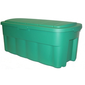 Centrex Plastics, LLC 50-Gallon Green Tote with Standard Snap Lid
