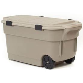 Centrex Plastics, LLC Rugged Tote 45-Gallon Tote with Latching Lid