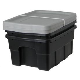Centrex Plastics, LLC 2-Pack 4-Gallon Tote with Standard Snap Lid