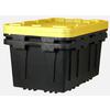 Centrex Plastics, LLC 2-Pack 17-Gallon Tote with Standard Snap Lid