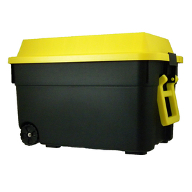 Centrex Plastics, LLC 2-Piece Plastic Rolling Cargo Trunk