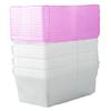 Centrex Plastics, LLC 10-Pack 6.5-Quart Clear Shoe Box with Standard Snap Lid