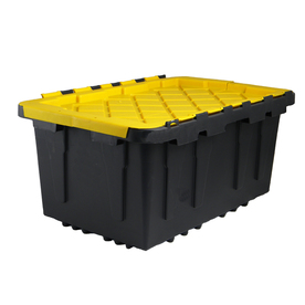 Centrex Plastics, LLC Commander 17-Gallon Tote with Hinged Lid