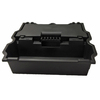 Kobalt 20.63-in x 25.13-in (No Drawer Slides) Plastic Tool Chest (Black)