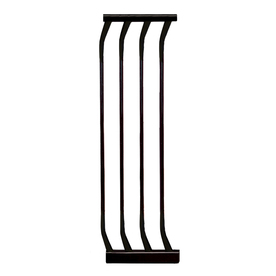 Dreambaby 10-1/2-in x 29-1/2-in Black Metal Child Safety Gate Extender