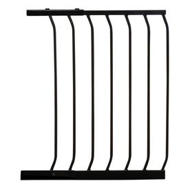 Dreambaby Chelsea Auto-Close 21-in x 29.5-in Black Metal Child Safety Gate
