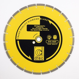 Dtec Classic 14-in 0 Wet or Dry Segmented Circular Saw Blade