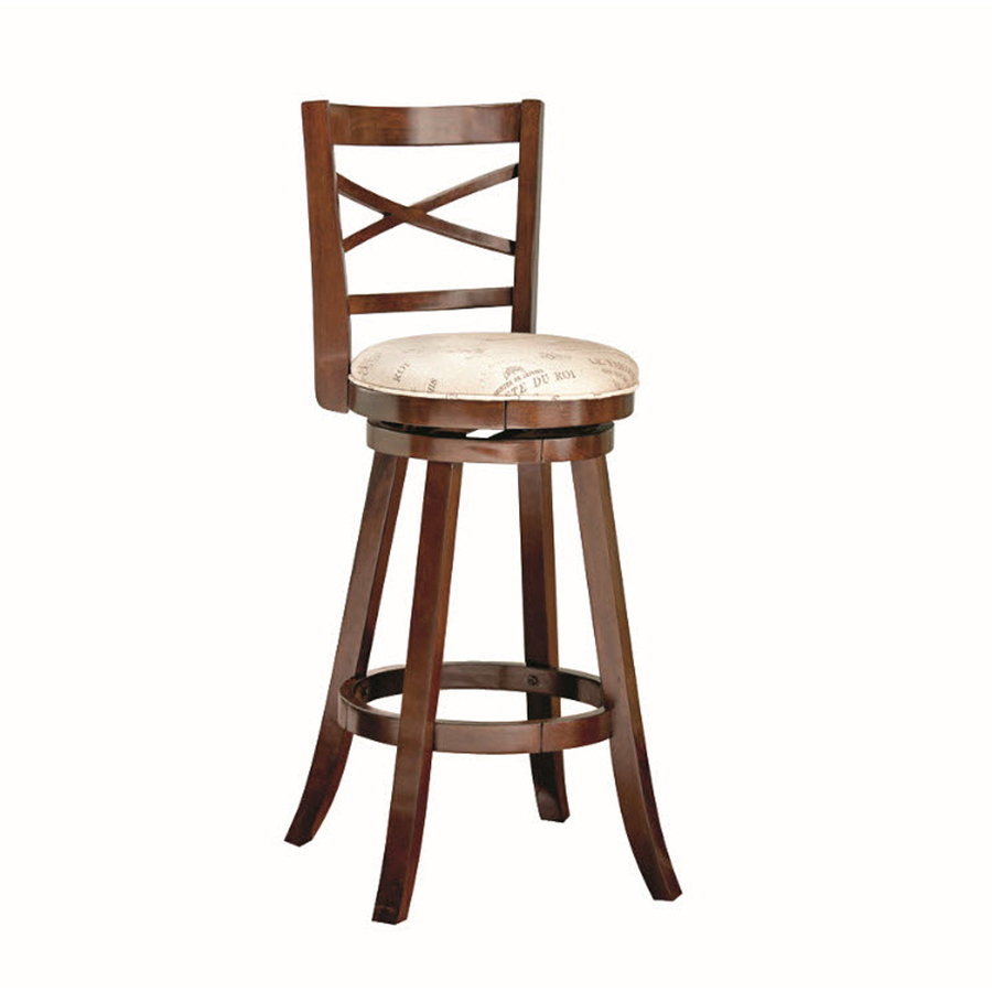 Shop Style Selections Warm Brown 42 in Bar Stool at Lowescom : 9554100218922 from lowes.com size 900 x 900 jpeg 161kB