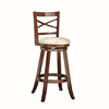 Style Selections One Warm Brown 42-in Bar Stool (27-In to 35-In)