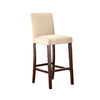 Style Selections One Warm Brown 38-in Bar Stool (27-In to 35-In)