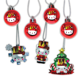 Hello Kitty 7-Pack Ornament Set