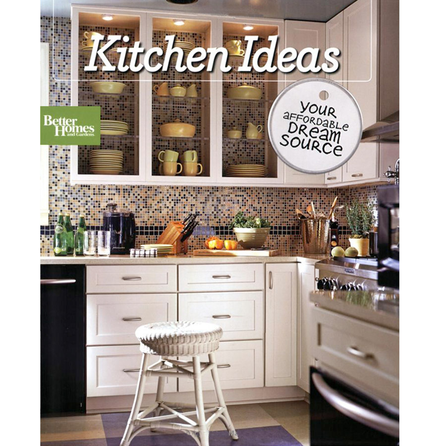 Shop better homes and gardens kitchen ideas at for House and garden kitchen designs