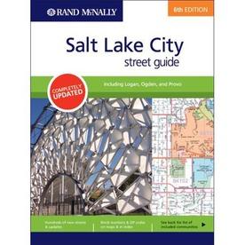 Rand McNally Salt Lake City Street Guide (6th Ed.)