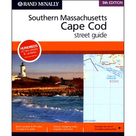 Southern Massachusetts Cape Cod Street Guide (5th)