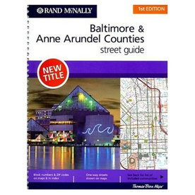 Baltimore & Anne Arundel Counties Street Guide