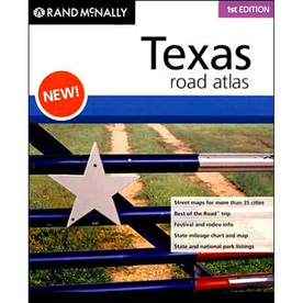 Texas Road Atlas (1st Ed.)