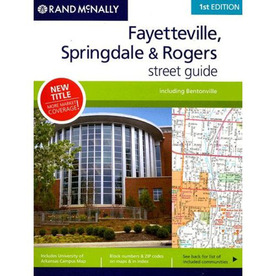 Fayetteville & Springdale Counties Street Guide