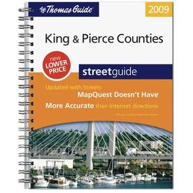 King & Pierce Counties Street Guide (2009)