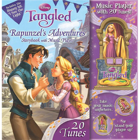 Tangled, Rapunzel's Adventures Storybook with Music Player
