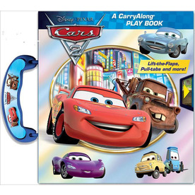Cars 2 Carry Along Play Book