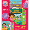 Dora the Explorer 3 Book Play a Sound Set
