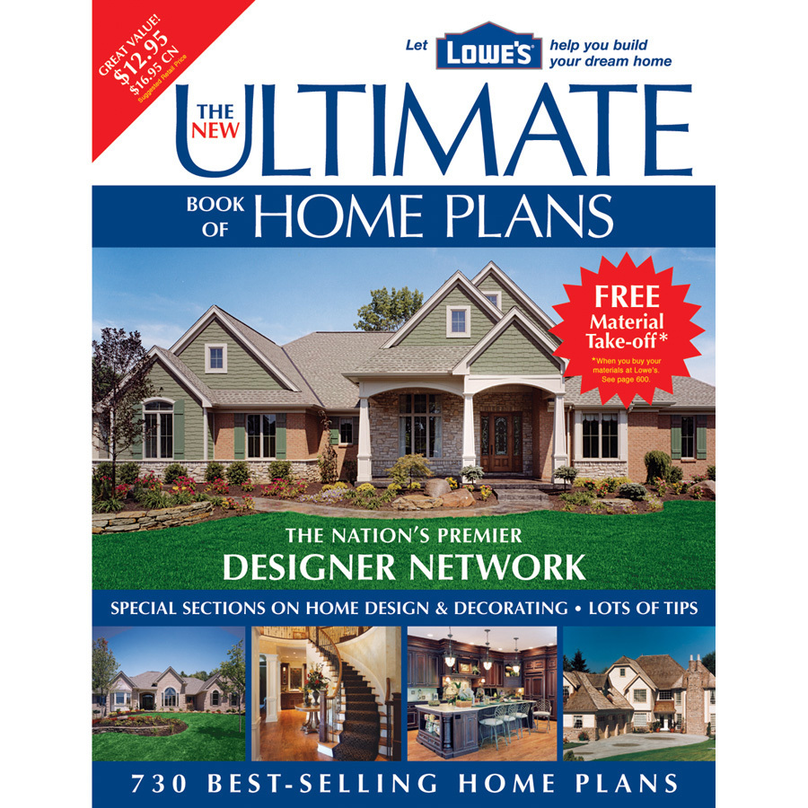 Shop creative homeowner new ultimate book of home plans at - Books on home design ...