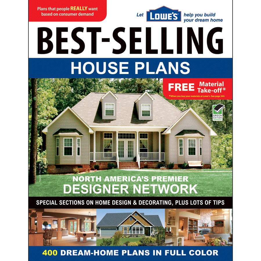 Shop lowe 39 s best selling house plans at for Top selling house plans