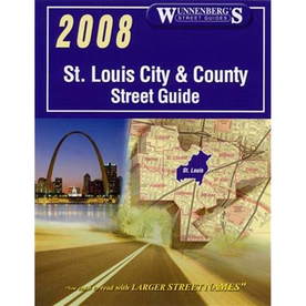 St. Louis City & County Street Guide (2010 Ed.)