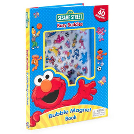 Sesame Street Bubble Magnet Book