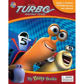 Turbo Racing Team My Busy Books