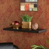 Boston Loft Furnishings 24-in W x 1.125-in H x 10-in D Wood Wall Mounted Shelving