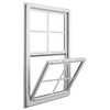 Ply Gem Windows 2600 SH Vinyl Double Pane Single Strength New Construction Single Hung Window (Rough Opening: 36-in x 54-in; Actual: 35.5-in x 53.5-in)