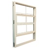Ply Gem 1600 Series 1600 Aluminum Double Pane Single Strength New Construction Single Hung Window (Rough Opening: 37-in x 38.375-in; Actual: 36-in x 37.375-in)