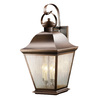 Kichler Lighting Mount Vernon 27.75-in H Olde Bronze Outdoor Wall Light