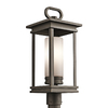 Kichler Lighting South Hope 21.5-in H Olde Bronze Post Light